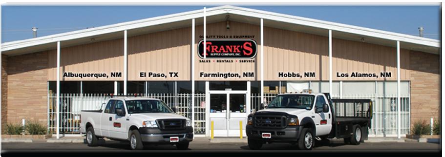 Franks Supply Mobile